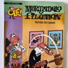 Cómics: MORTADELO Y FILEMÓN OLÉ Nº 24 - EDICIONES B. Lote 270870963