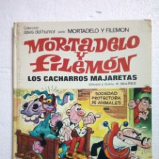 Comics: MORTADELO Y FILEMÓN LOS CACHARROS MAJARETAS. Lote 270955713