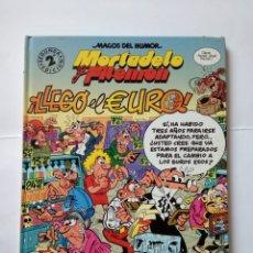 Comics : MAGOS DEL HUMOR MORTADELO Y FILEMÓN - LLEGO EL EURO. Lote 271069973