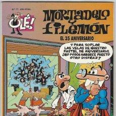 Comics: EDICIONES B. OLÉ MORTADELO. 77. SIN RELIEVE.. Lote 271173748