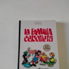 Fumetti: CLÁSICOS DEL HUMOR LA FAMILIA CEBOLLETA EDICIÓN ESPECIAL COLECCIONISTA EDICIONES B AÑO 2009. Lote 271999173