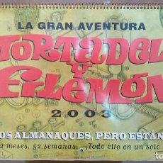 Comics : MORTADELO Y FILEMÓN (CALENDARIO 2003) (21 FOTOS). Lote 272036278