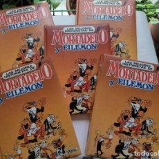 Comics : LAS MEJORES HISTORIETAS DE MORTADELO Y FILEMON - COLECCION COMPLETA 5 TOMOS - EDICIONES NAUTA. Lote 272268198
