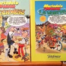Cómics: MORTADELO Y FILEMON ::: 1 LA VUELTA & 2 ! ELECCIONES !. Lote 272920608