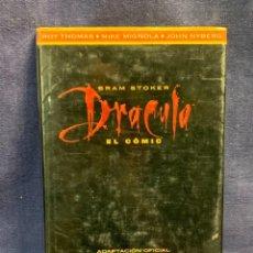 Cómics: DRACULA COMIC BRAM STOKER CO&CO 1992 ADAPTACION OFICIAL PELICULA 1ªEDICION EDICIONES B 27X18CMS. Lote 273081643