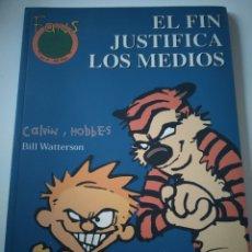 Comics : CÓMIC CALVIN Y HOBBES. EL FIN JUSTIFICA LOS MEDIOS. FANS. N° 17.EDICIONES B 1999.. Lote 275321363