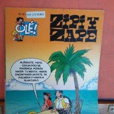 Fumetti: ZIPI Y ZAPE. CAMPAÑA ANTITROLA. OLÉ! N.47. EDICIONES B.. Lote 275506153