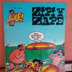 Fumetti: ZIPI Y ZAPE. ¡AQUI ESTAREMOS MUY BIEN, PAPA! N.º 4. EDICIONES B.. Lote 275507083