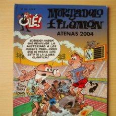Comics : OLÉ Nº 169 MORTADELO Y FILEMÓN (ATENAS 2004) EDICIONES B. Lote 275930143