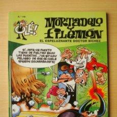 Comics : OLÉ Nº 146 MORTADELO Y FILEMÓN (EL ESPELUZNANTE DOCTOR BÍCHEZ) EDICIONES B. Lote 276245523