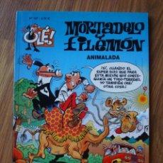 Comics : OLÉ Nº 127 MORTADELO Y FILEMÓN (ANIMALADA) EDICIONES B. Lote 276255088