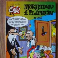 Comics : OLÉ Nº 72 MORTADELO Y FILEMÓN (EL CIRCO) EDICIONES B. Lote 276262283