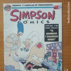 Cómics: SIMPSON COMICS Nº 1 - EDICIONES B (FW). Lote 276269383