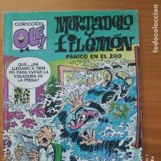Cómics: MORTADELO Y FILEMON - PANICO EN EL ZOO - COLECCION OLE! - EDICIONES B - 1991 (A). Lote 276278998