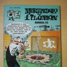 Comics : OLÉ Nº 62 MORTADELO Y FILEMÓN (MUNDIAL 82) EDICIONES B PORTADA RELIEVE. Lote 276281198