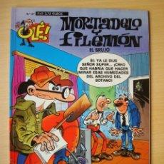 Cómics: OLÉ Nº 27 MORTADELO Y FILEMÓN (EL BRUJO) EDICIONES B. Lote 294022923