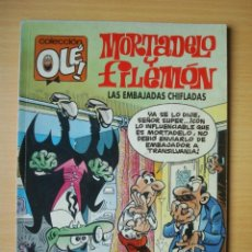 Comics : OLÉ Nº 402 M. 269 MORTADELO Y FILEMÓN (LAS EMBAJADAS CHIFLADAS) EDICIONES B. Lote 276332903