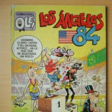 Cómics: OLÉ Nº 296 M. 86 MORTADELO Y FILEMÓN (LOS ÁNGELES 84) EDICIONES B. Lote 297156528