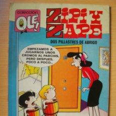 Comics : OLÉ Nº 156 Z. 130 ZIPI Y ZAPE (DOS PILLASTRES DE ABRIGO) EDICIONES B. Lote 276382408