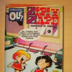 Comics : OLÉ Nº 123 Z. 5 ZIPI Y ZAPE (TRAVESURAS EN COMUN) EDICIONES B. Lote 276384413