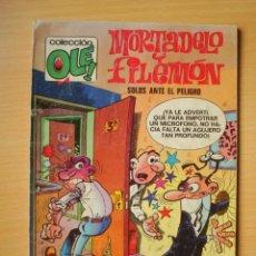 Comics : OLÉ Nº 121 M. 12 MORTADELO Y FILEMÓN (MISIÓN DE PERROS) EDICIONES B. Lote 276384558