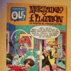 Comics : OLÉ Nº 98 M. 249 MORTADELO Y FILEMÓN (LOS INVENTOS DEL PROFESOR BACTERIO) EDICIONES B. Lote 276388708