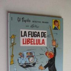 Cómics: GIL PUPILA DETECTIVE PRIVADO Nº 1 LA FUGA DE LIBÉLULA. MAURICE TILLIEUX.EDITORIAL CASALS 1987. Lote 277234593