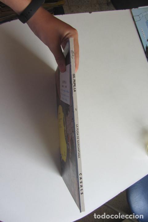 Cómics: GIL PUPILA DETECTIU PRIVAT LA FUGA DE SARGANTANA Nº 1 CATALA MAURICE TILLIEUX.EDITORIAL CASALS 1987 - Foto 2 - 277234783