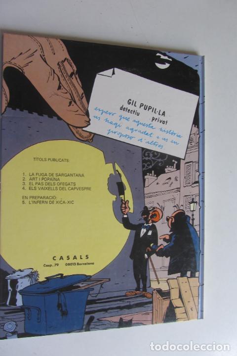 Cómics: GIL PUPIL.LA DETECTIU PRIVAT Nº 3 EL PAS DELS OFEGATS TAPA DURA MAURICE TILLIEUX CASALS - Foto 3 - 277235393