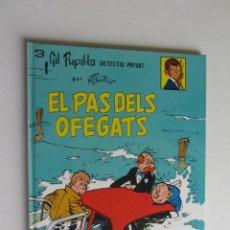 Cómics: GIL PUPIL.LA DETECTIU PRIVAT Nº 3 EL PAS DELS OFEGATS TAPA DURA MAURICE TILLIEUX CASALS. Lote 277235393