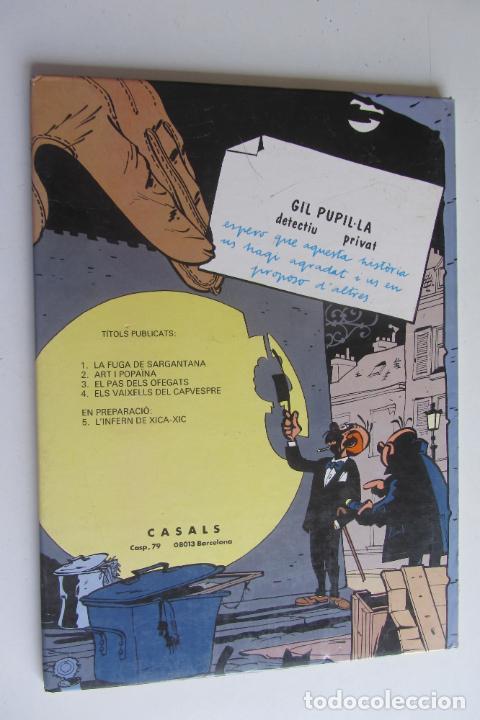 Cómics: GIL PUPIL·LA DETECTIU PRIVAT Nº 5 LINFERN DE XICA- XIC TAPA DURA MAURICE TILLIEUX CASALS - Foto 2 - 277236053