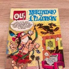 Comics : COLECCION OLE 340 M 109. MORTADELO Y FILEMON APOCRIFO. SIMON EL ESCURRIDIZO. EDICIONES B 1988. Lote 277241703