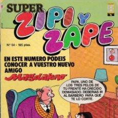 Cómics: SUPER ZIPI ZAPE - Nº 54 - 1987 - EDICIONES B -. Lote 277244928
