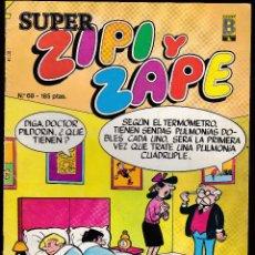 Cómics: SUPER ZIPI ZAPE - Nº 68 - 1990 - EDICIONES B -. Lote 277245828