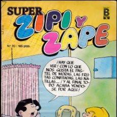 Cómics: SUPER ZIPI ZAPE - Nº 70 - 1990 - EDICIONES B -. Lote 277246903