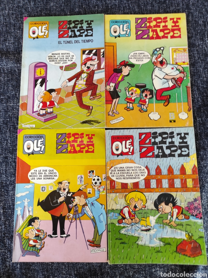 ZIPI ZAPE, COLECCIÓN OLE -LOTE 4 EJEMPLARES -EDITA : EDICINES B (Tebeos y Comics - Ediciones B - Otros)