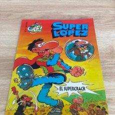 Cómics: COLECCION OLE SUPER LOPEZ SUPERLOPEZ Nº 31. EL SUPERCRACK. EDICIONES B 1ª EDICION 1997, JAN. Lote 277583523
