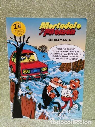 CÓMIC - MORTADELO Y FILEMON EN ALEMANIA - CARREFOUR - VERSION PROMOCION APOYO AL AUTISMO (Tebeos y Comics - Ediciones B - Humor)