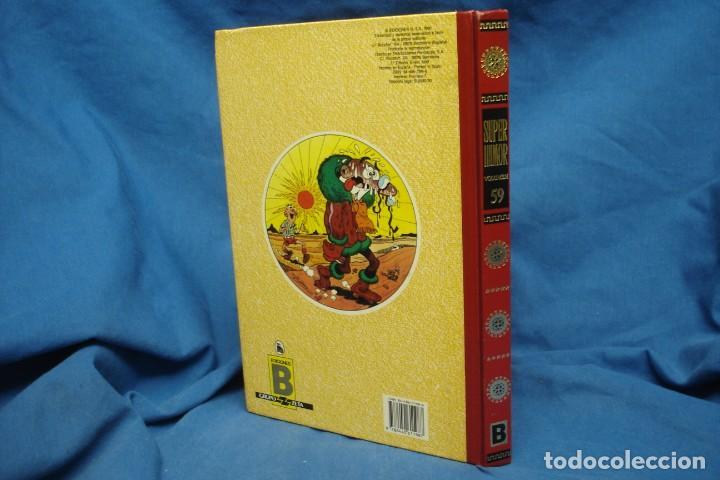Cómics: SUPER HUMOR Nº 59 - MORTADELO Y FILEMÓN, ZIPI Y ZAPE - EDICIONES B, 2ª EDICIÓN 1990 - Foto 5 - 277648873