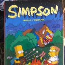 Cómics: LOS SIMPSON - ORGULLO Y DISCIPLINA - CORRESPONDE AL OLÉ 16 SIMPSONS - SUPERCOMICS. Lote 278321233