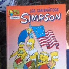 Cómics: LOS CARISMÁTICOS SIMPSON - OLÉ 17 - SIMPSONS EDICIONES B. Lote 278321278