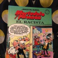 Cómics: MORTADELO Y FILEMON - EL RACISTA - MAGOS DEL HUMOR 44 - EDICIONES B - FRANCISCO IBÁÑEZ. Lote 278530398