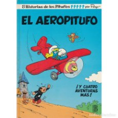 Cómics: LOS PITUFOS 14. EL AEROPITUFO. EDICIONES B. Lote 177749679