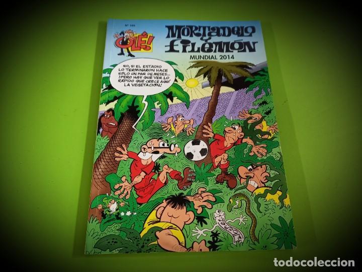 OLE 199 MORTADELO Y FILEMON - MUNDIAL 2014 - PRIMERA 1ª EDICION - EXCELENTE ESTADO - (Tebeos y Comics - Ediciones B - Humor)