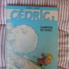 Cómics: CEDRIC- CAMPEON DE ESQUI - N. 2. Lote 278758708