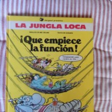 Cómics: LA JUNGLA LOCA - QUE EMPIECE LA FUNCION - N. 2. Lote 278761938