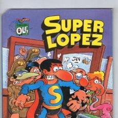 Cómics: SUPERLÓPEZ - LOS ALIENÍGENAS - JAN - EDICIONES B - AÑO 1993.. Lote 278797778