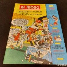 Cómics: EL TEBEO / 108 / EDITADO POR EL PERIÓDICO / MOSCÚ '80 - SE ACABÓ / PLANCHA. 1987.. Lote 281874348