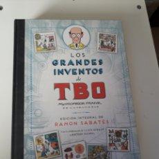 Cómics: LOS GRANDES INVENTOS DEL TBO. INTEGRAL. TOMO GRAN FORMATO. Lote 283261383