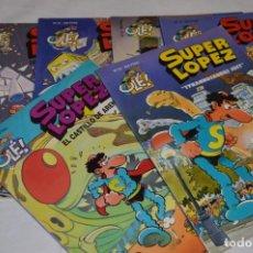 Cómics: LOTE DE 6 EJEMPLARES OLÉ! / SUPER LÓPEZ - AÑOS 90 - EDICIONES B / GRUPO ZETA - MIRA FOTOS/DETALLES. Lote 283516383